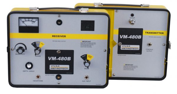 VM-480B Pipe & Cable Locator