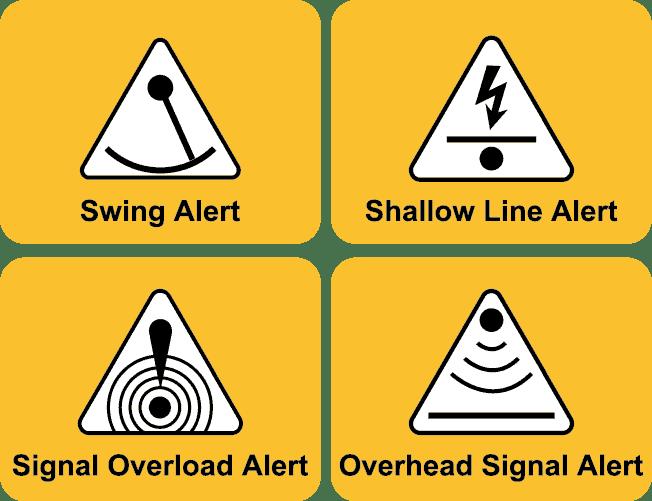 vScan Alert Icons